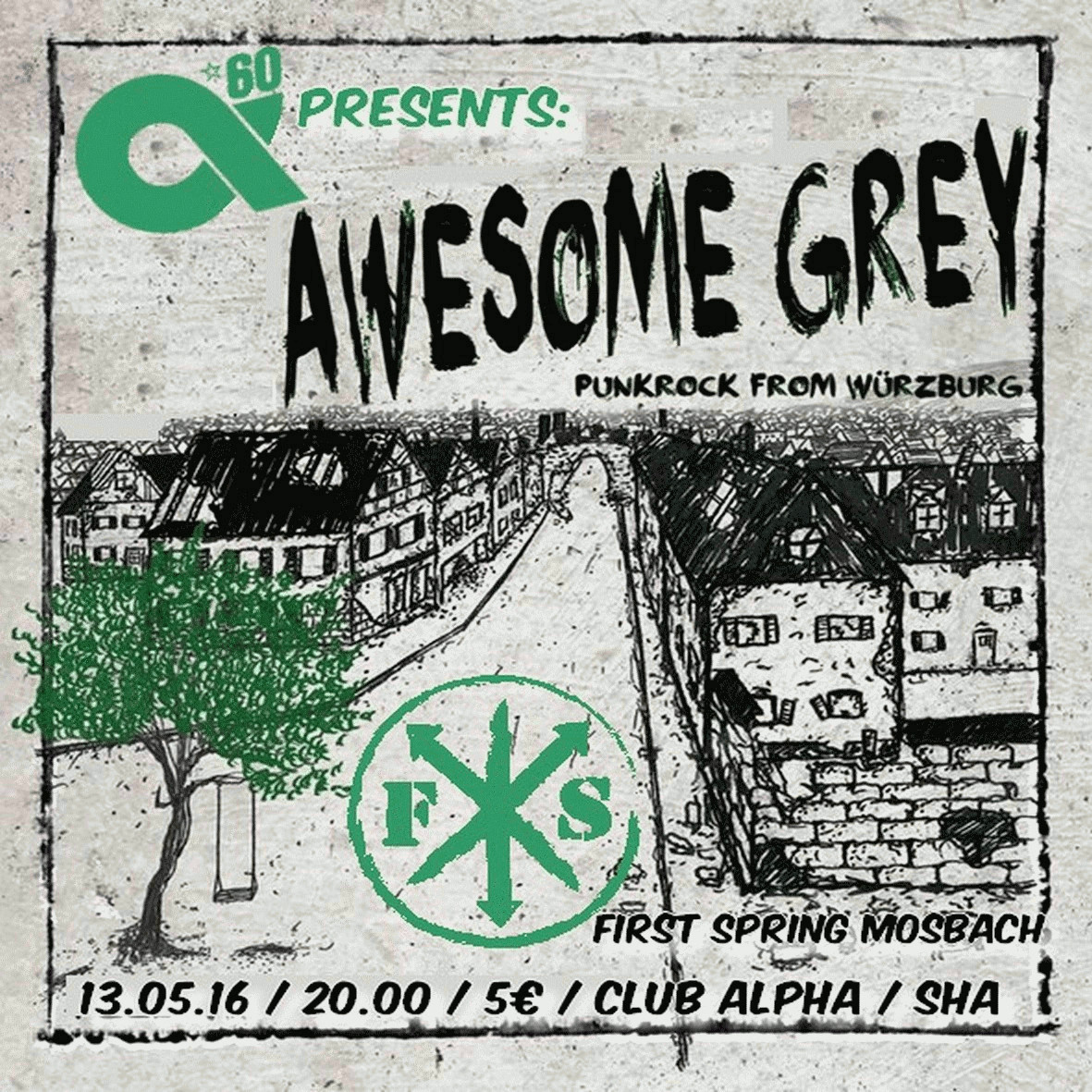 Freitag, 13.5.2016: Awesome Grey